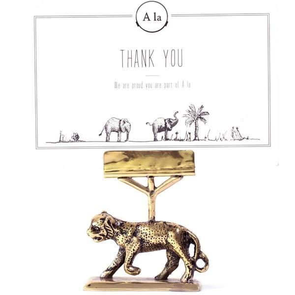 À la Leopard Card Holder 2