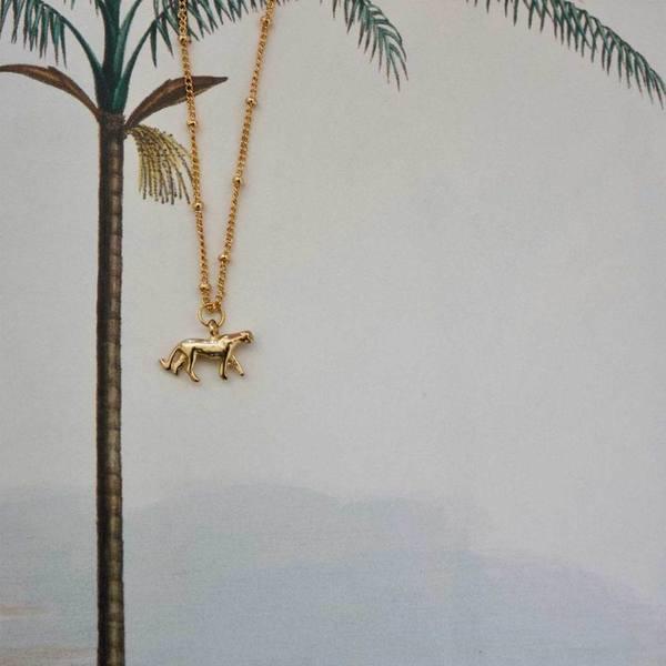 A la Leopard Classic Necklace sfeerbeeld