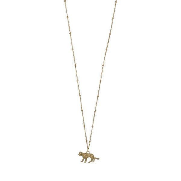 À la Leopard Detailed Necklace 2