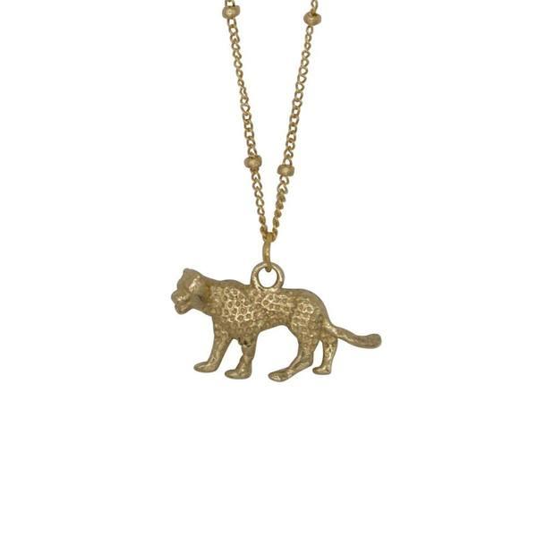 À la Leopard Detailed Necklace
