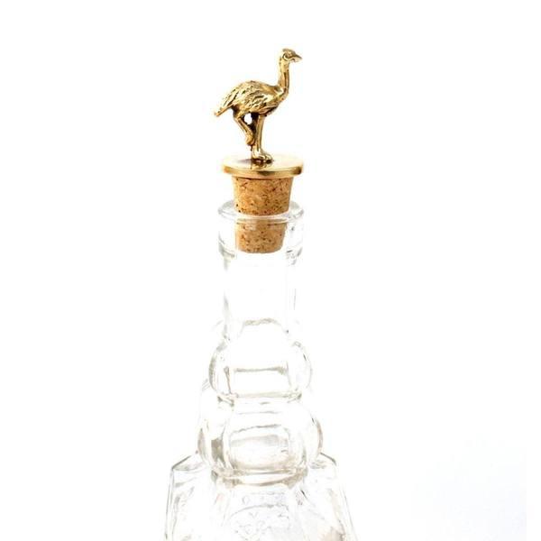 À la Ostrich Bottle Stopper 2