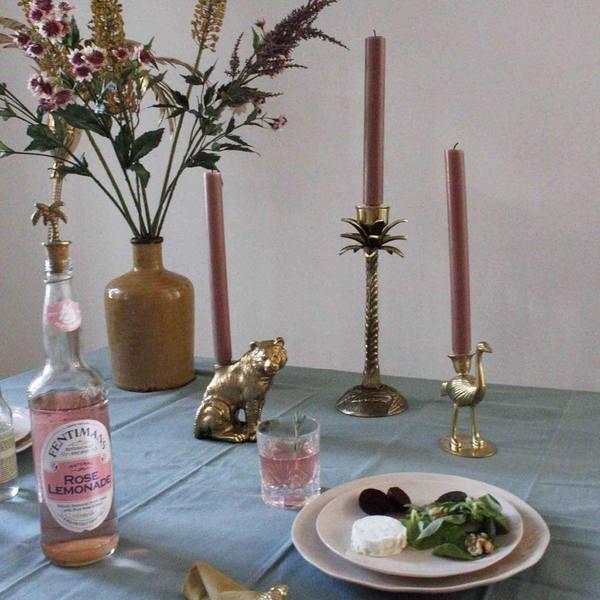 A la Ostrich Candle Holder sfeerbeeld