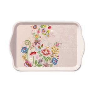 Ambiente dienblad Embroidery Flowers Rose