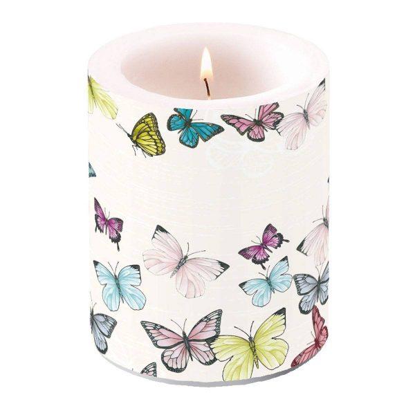 ambiente kaars butterfly groot