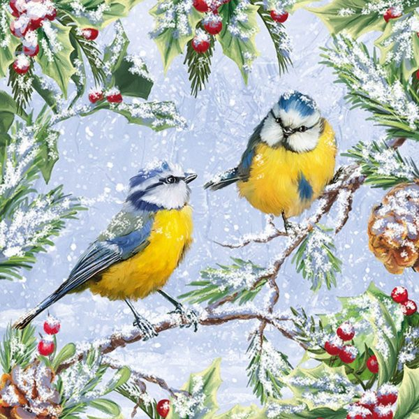 Ambiente servetten Chirping Birds