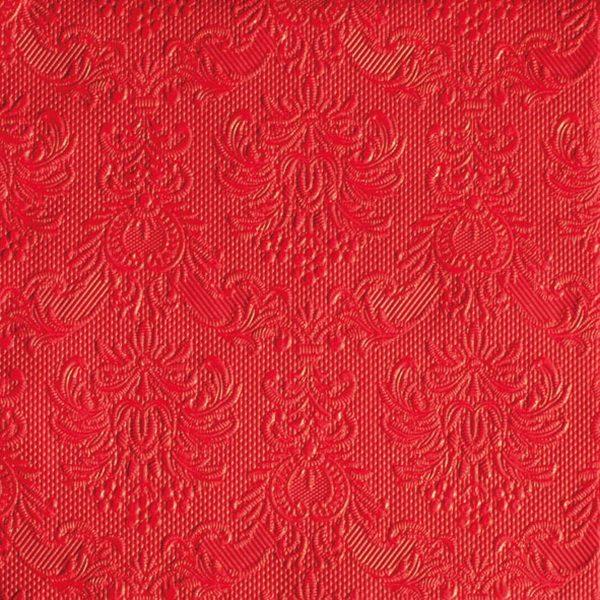 Ambiente servetten Elegance Red