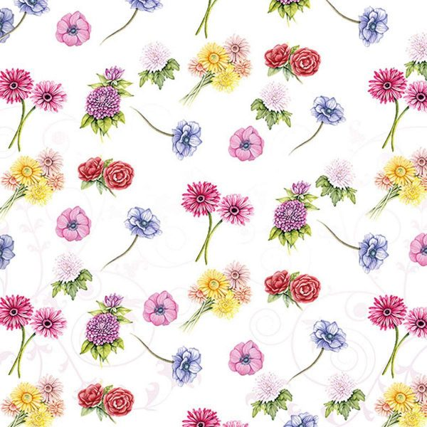 Ambiente servetten Flower Festival