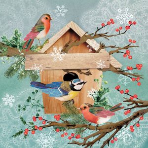Ambiente servetten X-Mas Bird House