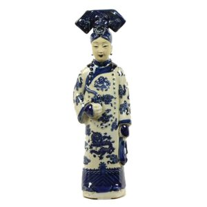 asian mix Porseleinen Keizerin Pipe Blauw wit