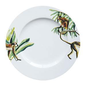 Dinerbord Jungle Stories Aapjes