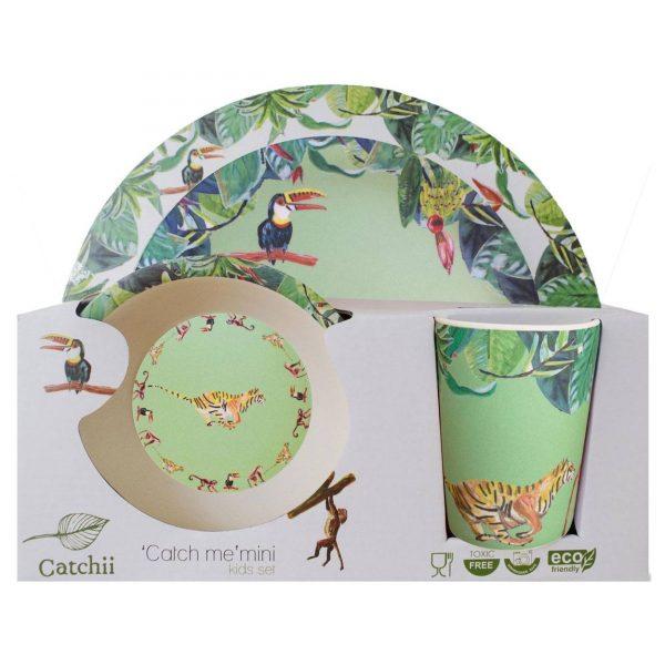 Catchii Kids Gift Set Bamboe Groen