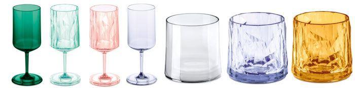 collectie superglas koziol