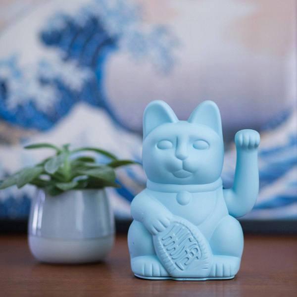 Donkey Lucky Cat blue 2