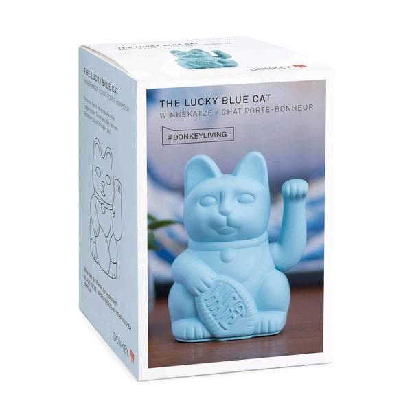 Donkey Lucky Cat blue 3
