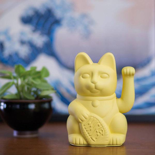 Donkey Lucky Cat yellow 2