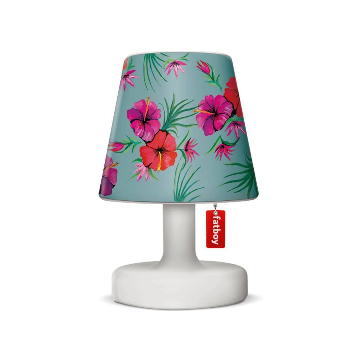 cooper cappie hawaii blue van fatboy fleurige bloemenprint rood rose. Black Bedroom Furniture Sets. Home Design Ideas