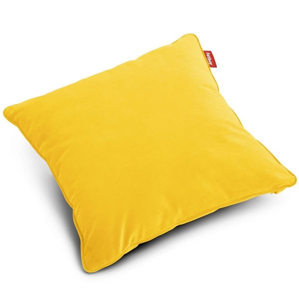 Fatboy Pillow Square Velvet Maize Yellow 50x50cm