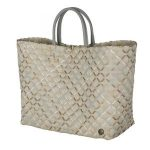 handed by tas glamour pattern pale grey