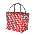 handed by tas waves coral red white