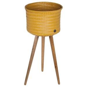 Handed By Up High - Plantenstandaard - Mosterd geel