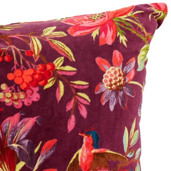 Imbarro Kussen Paradise Berry detail