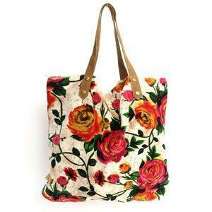 Rosie Ecru shopper