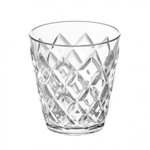 koziol crystal beker transparant