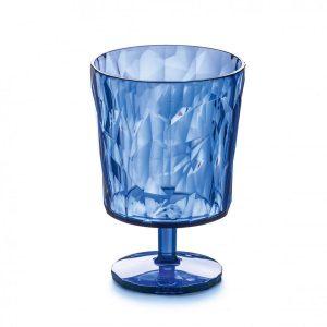 Koziol Club S glas transprant blauw