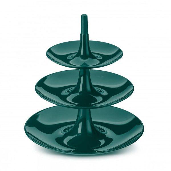 koziol etagere emerald green babell l