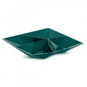 koziol snack schaal emerald groen