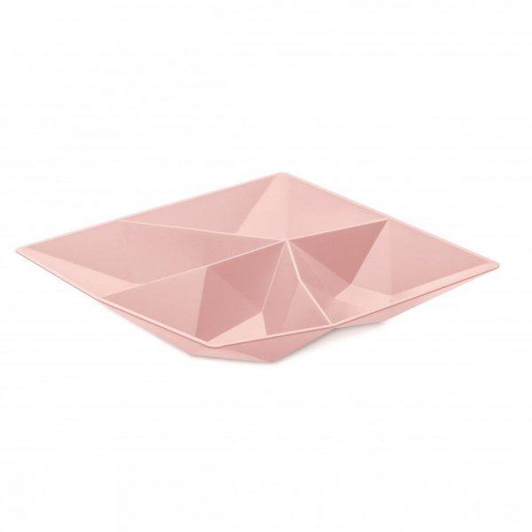 koziol snackschaal roze