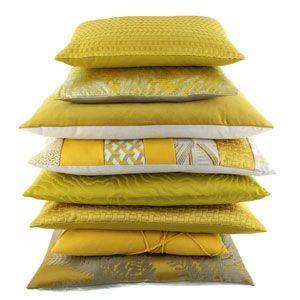 kussenfabriek yellow mustard