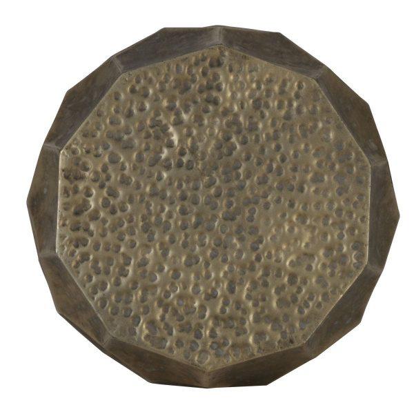 Light & Living bijzettafel Kalan antiek goud Ø37x42,5 cm b