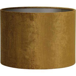 Light & Living Gemstone Cilinder Lampenkap Goud - Ø55 x 41 cm