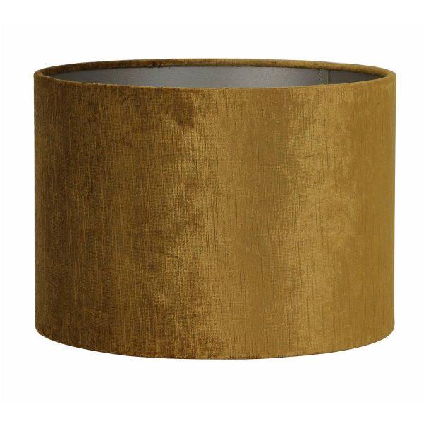 Light & Living lampenkap Gemstone goud cilinder (40-40-30 cm)
