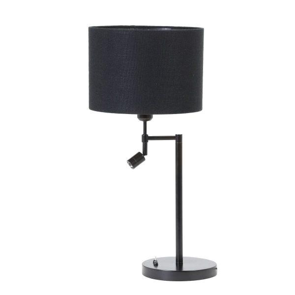 Light & Living lampenkap Livigno zwart Cilinder (30-30-21cm) d