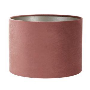 Light & Living lampenkap velours Dusky Pink (30-30-21 cm)