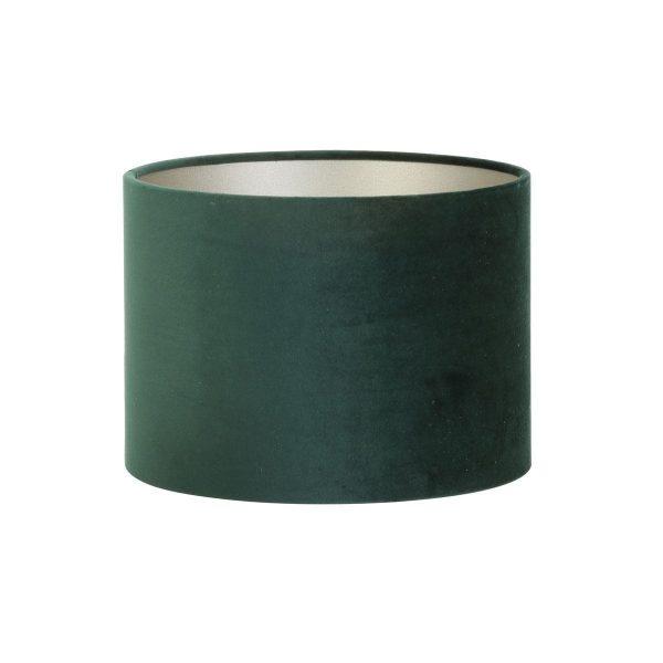 Light & Living lampenkap Velours Dutch Green Cilinder (20-20-15 cm)