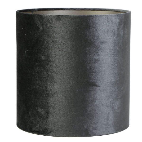 Light & Living lampenkap Zinc Graphite cilinder (25-25-18 cm)