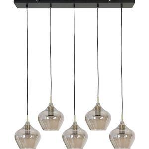 Light & Living Rakel Hanglamp - Antiek Brons/Smoke