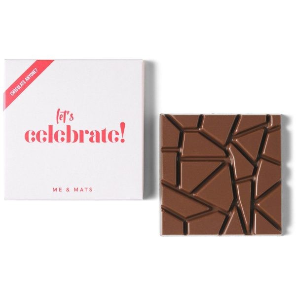 me&mats chocolade lets celebrate
