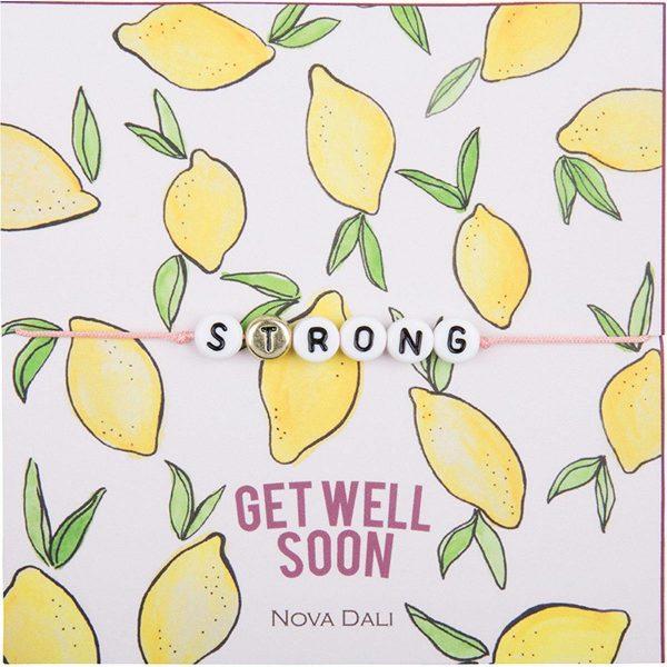 Nova Dali giveaway bracelet Get Well Soon