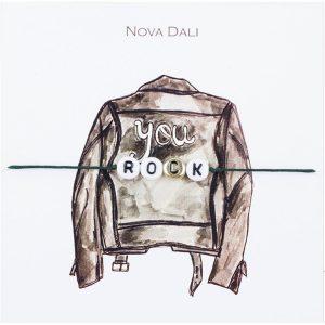 Nova Dali giveaway bracelet You Rock
