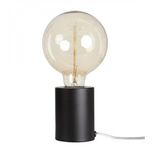 Opjet aanraak lamp Mat Zwart