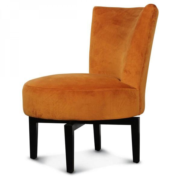 Opjet fauteuil draaistoel Birkin velours Indie 2