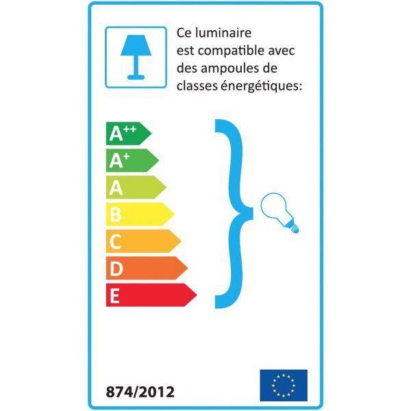 opjet lamp billy mintgroen energie label
