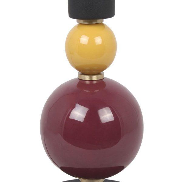opjet lamp billy wijnrood 2