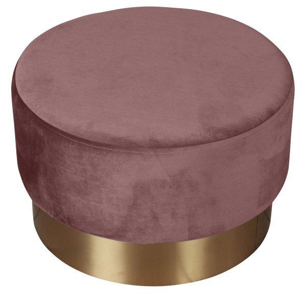 Opjet poef Serge roze groot 1