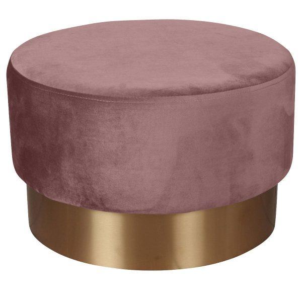 Opjet poef Serge roze groot 3