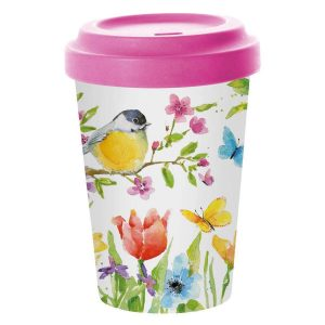 ppd coffee to go beker spring bird
